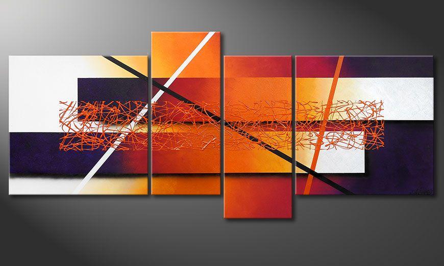 Afterglowing Memories 180x80x2cm Obraz