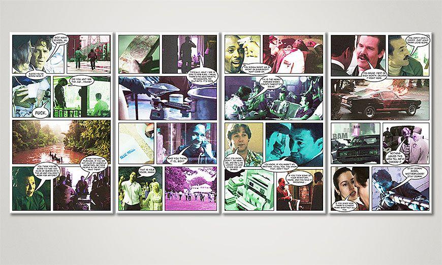 Amerykanski Gangster 160x70x2cm Obraz