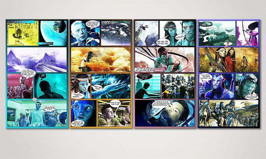 Avatar 160x70x2cm Obraz