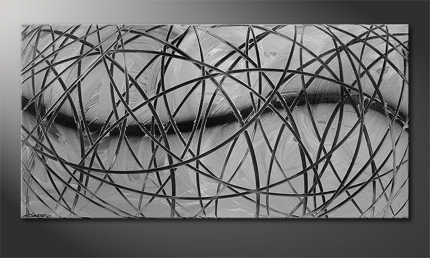 Broken White 140x70x2cm Obraz