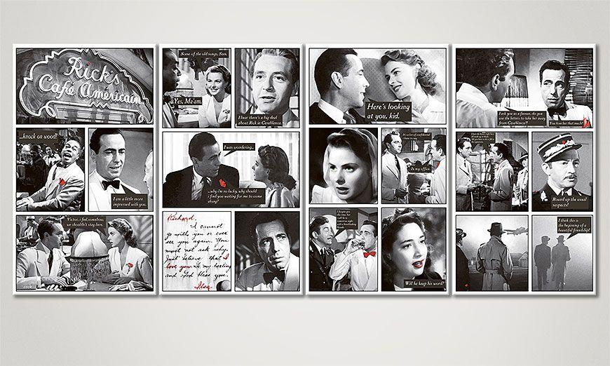 Casablanca 160x70x2cm Obraz