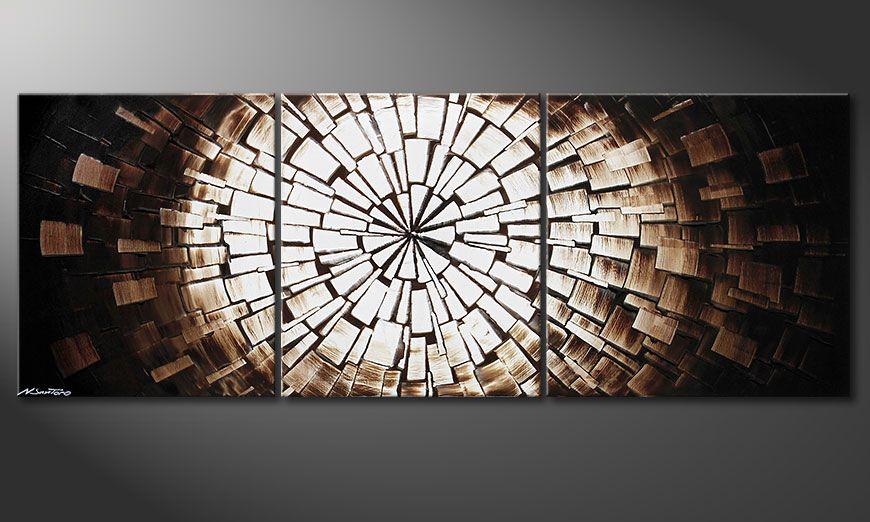 Center of Babylon 190x70x2cm nowoczesne obraz
