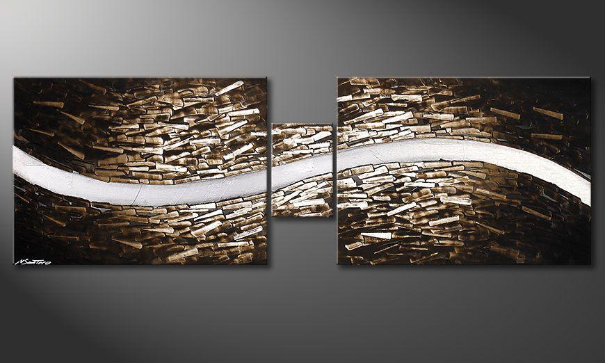Clear River 180x60x2cm Obraz