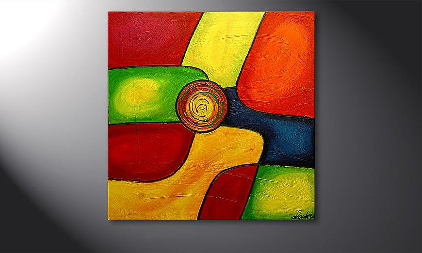 Colors 80x80x2cm Obraz