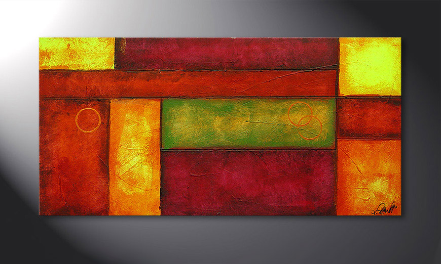 Come Together 120x60x2cm Obraz