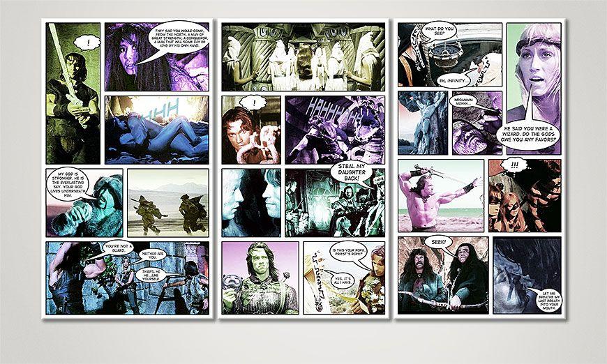 Conan 120x70x2cm Obraz