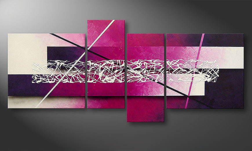 Connection 180x80x2cm Obraz