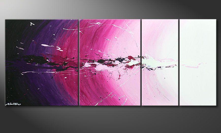 Cosmic Splash 170x70x2cm Obraz