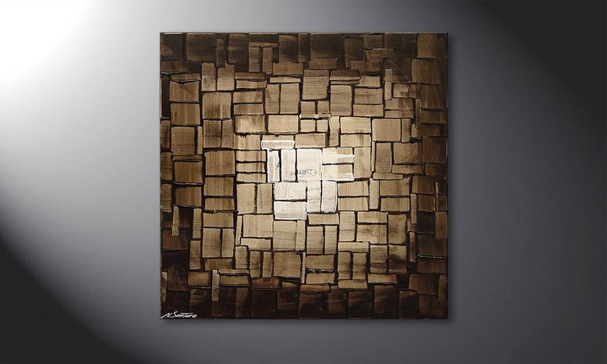 Cubic Light 80x80x2cm Obraz