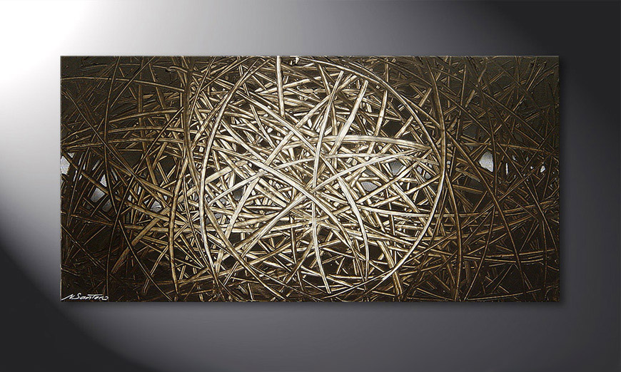 Energy of Earth 120x60x2cm Obraz