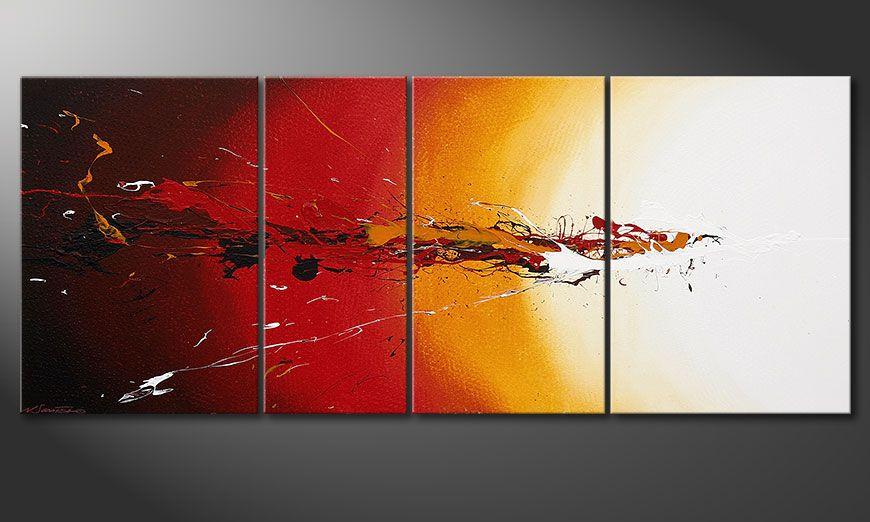 Fiery Splash 170x70x2cm Obraz