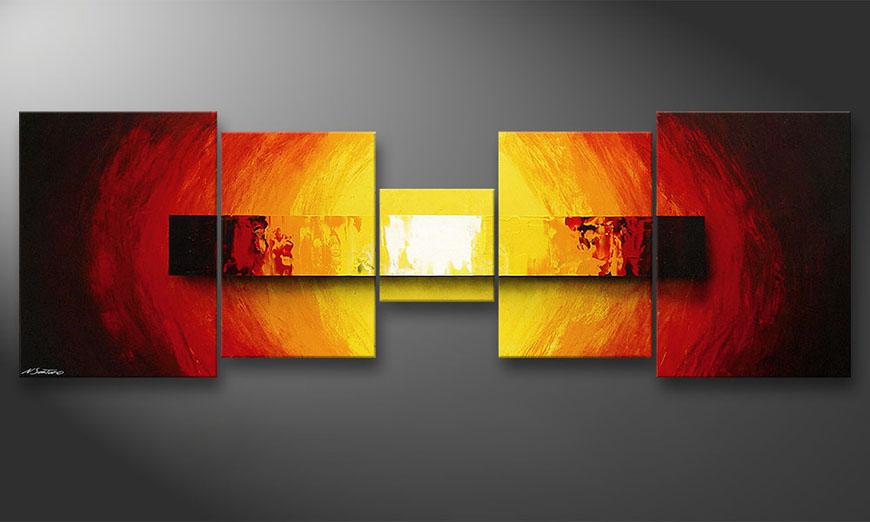 Fire Bloc 210x70x2cm Obraz