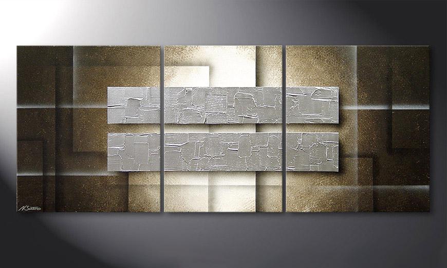 Frozen Blocs 170x70x2cm Obraz