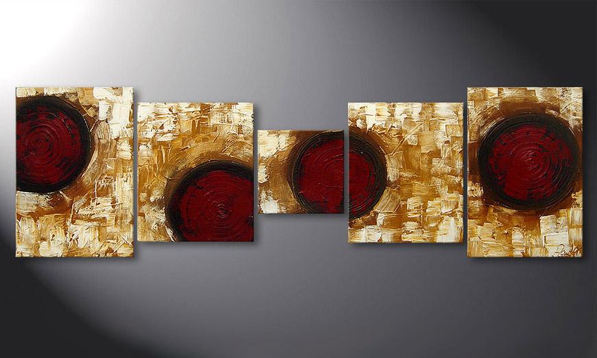 Hot Spots 190x60x2cm Obraz