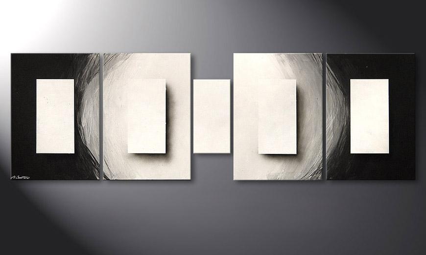 Illuminated Cubes 220x70x2cm Obraz