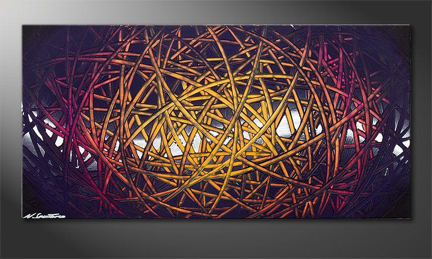 Indian Moonlight 100x50x2cm Obraz
