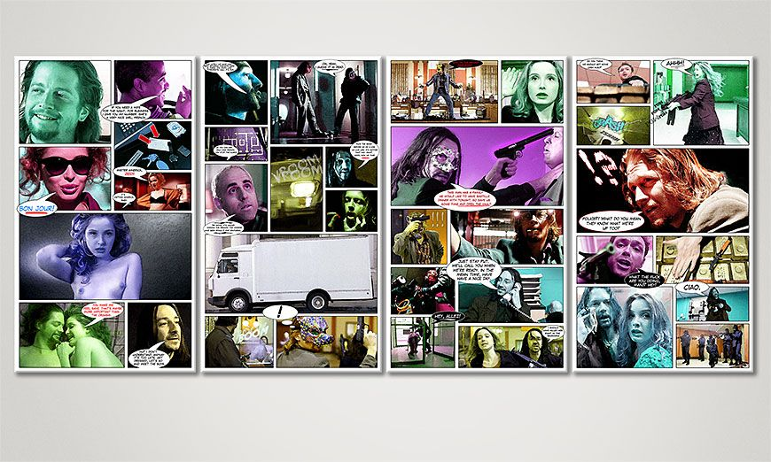Killing Zoe 160x70x2cm Obraz
