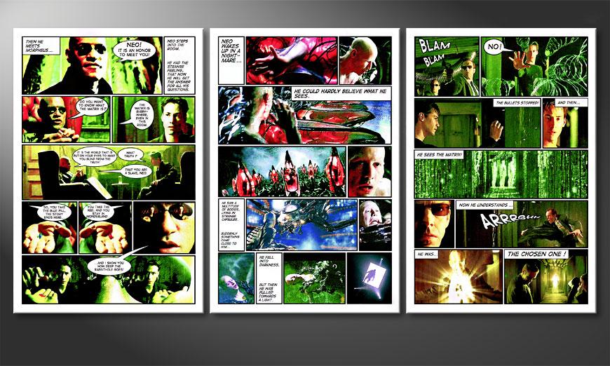 Matrix 180x90x2cm Obraz