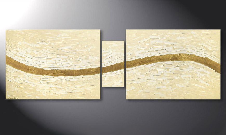 Mellow River 180x60x2cm Obraz
