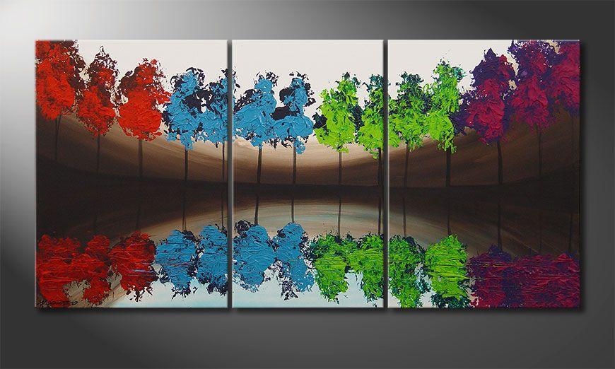 MiracleTrees 140x70x2cm Obraz