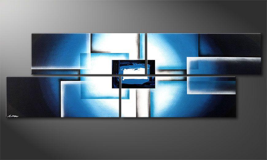 Obraz XXL Polar Glow 245x80x2cm