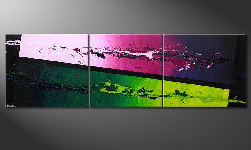 Obraz-XXL Tropic Splash 260x80x2cm
