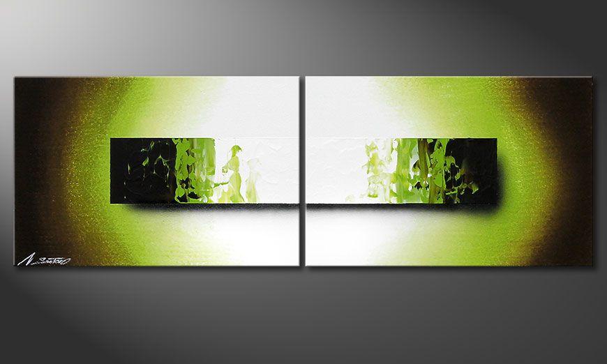Obraz na blejtramie Jungle Fever 120x40x2cm