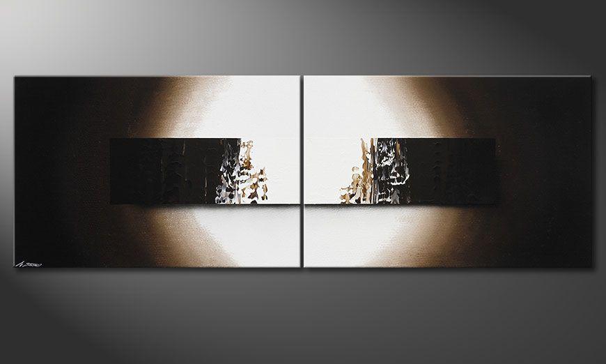 Obraz na blejtramie Light Rain 240x80x2cm