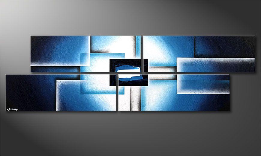 Polar Glow 200x60x2cm Obraz