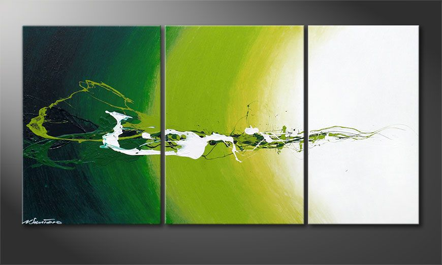 Power of Nature 140x70x2cm nowoczesne obraz