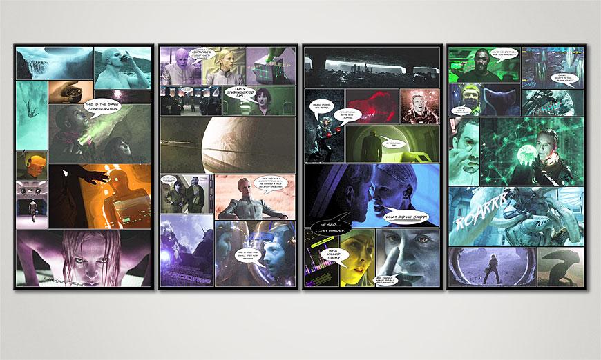 Prometeusz 160x70x2cm Obraz