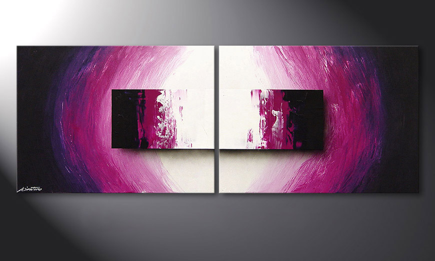 Purple Rain 160x60x2cm Obraz