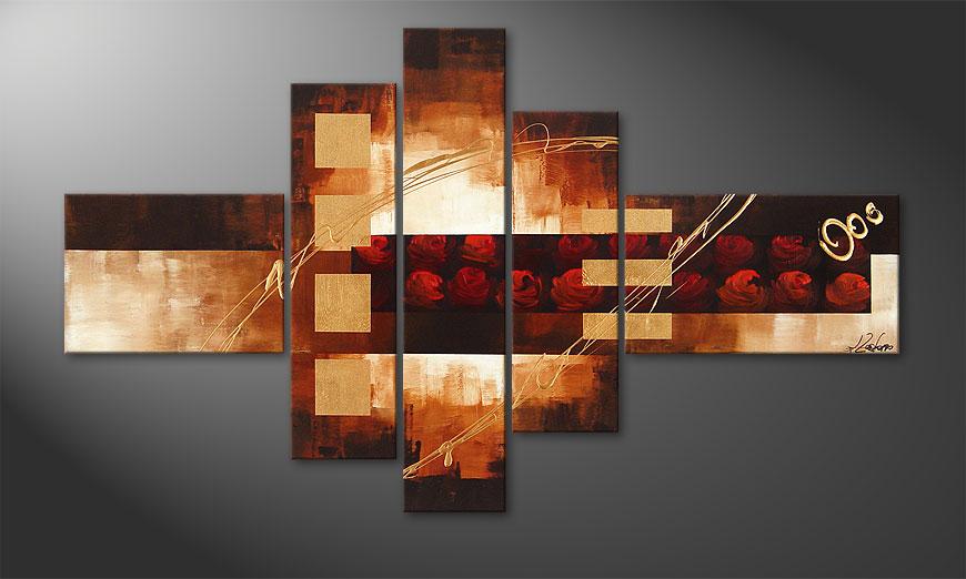 Rose Phantasies 150x90x2cm Obraz