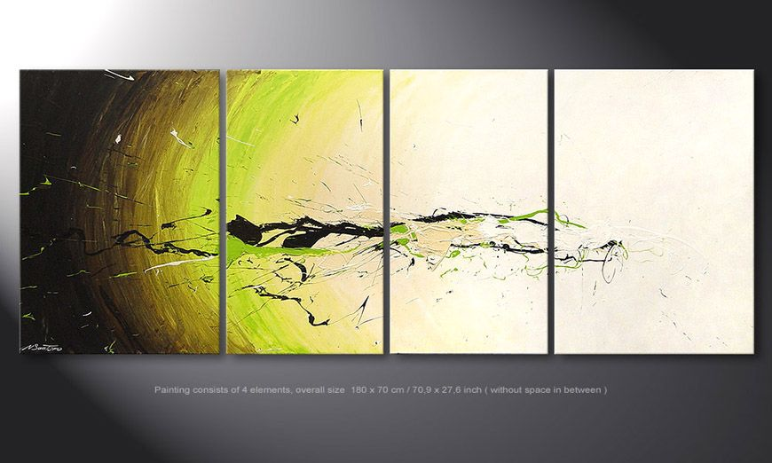 Spirit of Nature 180x70x2cm Obraz