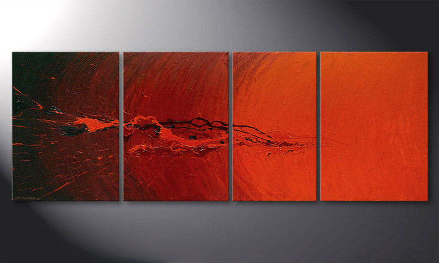 Splash of Glow 190x70x2cm Obraz
