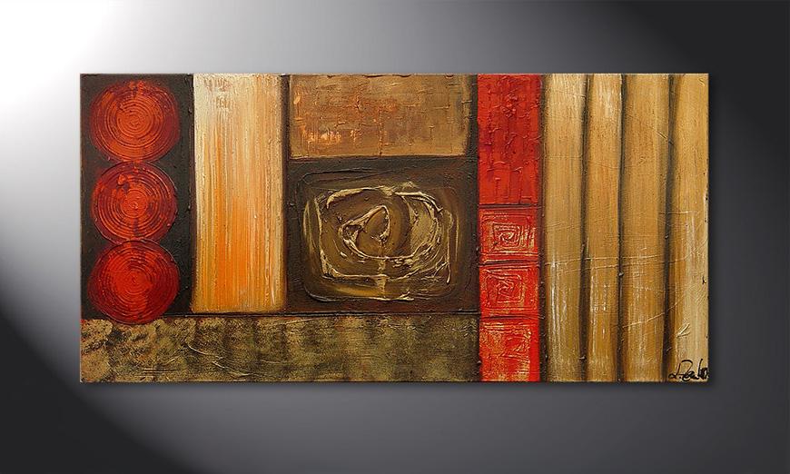 Stoned Roses 120x60x2cm Obraz