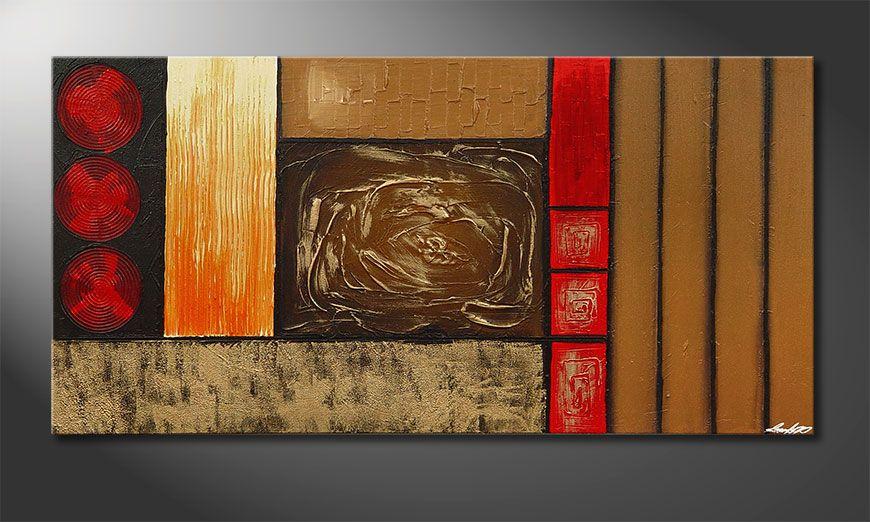 Stoned Roses 140x70x2cm Obraz-XXL