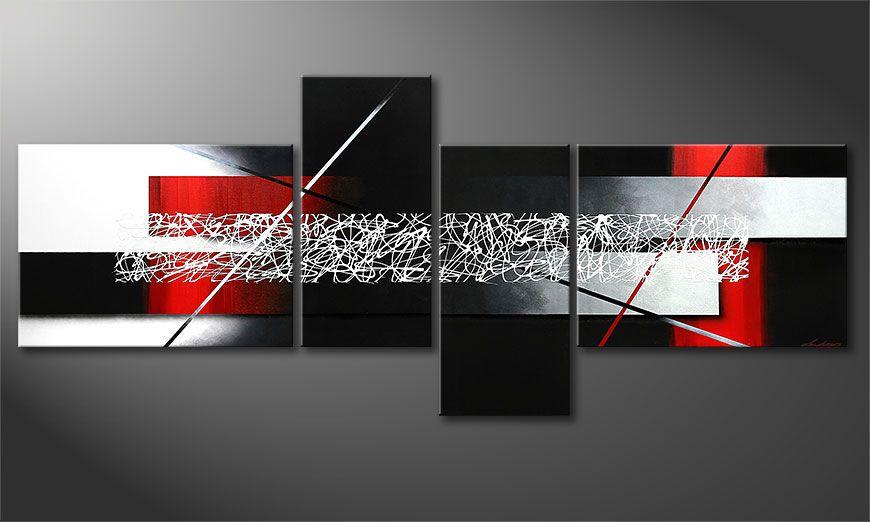 Sudden Inspiration 240x100x2cm Obraz-XXL