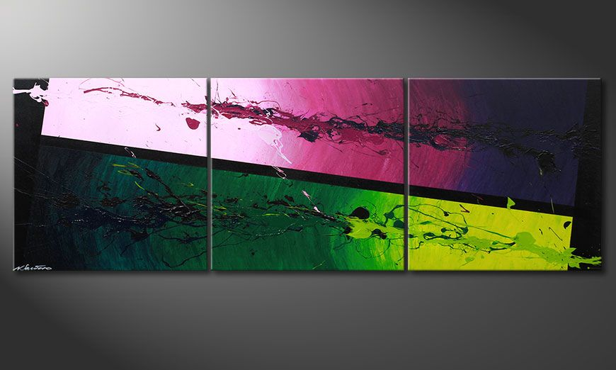 Tropic Splash 210x70x2cm Obraz