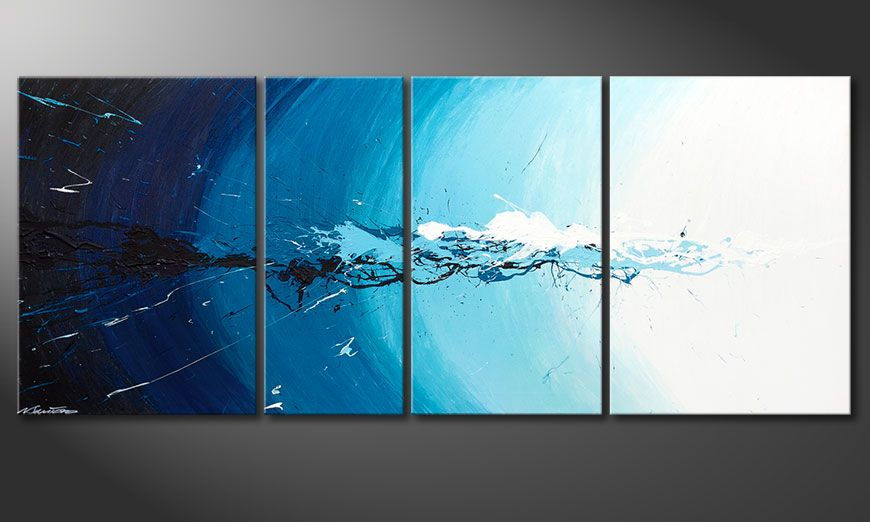 Water Splash 170x70x2cm Obraz