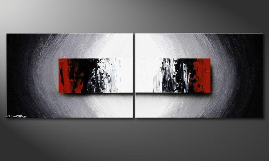 Współczesne obraz Deep Space 120x40x2cm