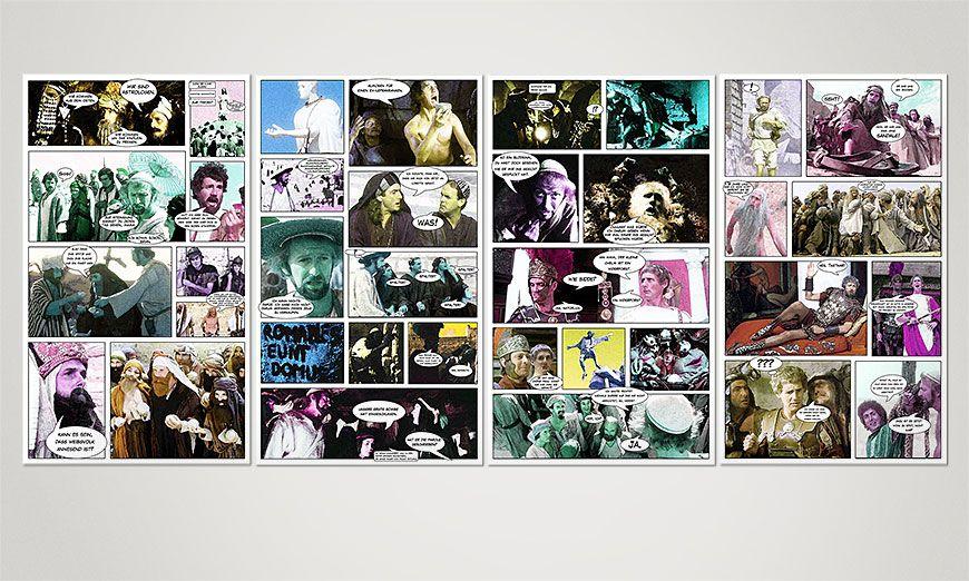 Zywot Briana 160x70x2cm Obraz