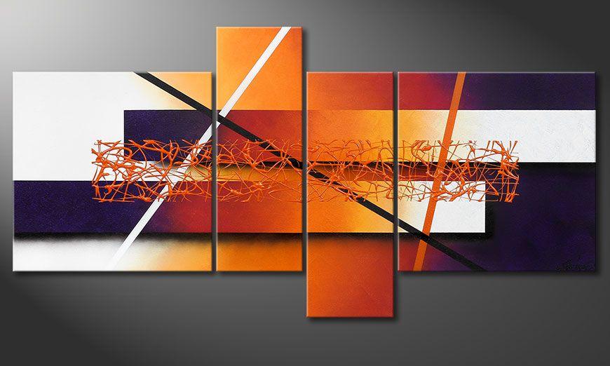 Nowoczesne obraz Afterglowing Memories 130x65x2cm