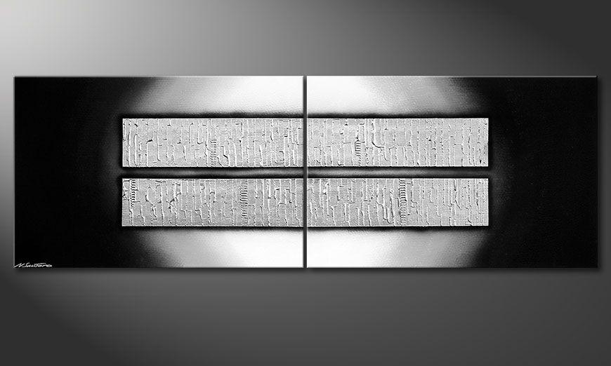 Nowoczesne obraz Crushed Ice 240x80x2cm