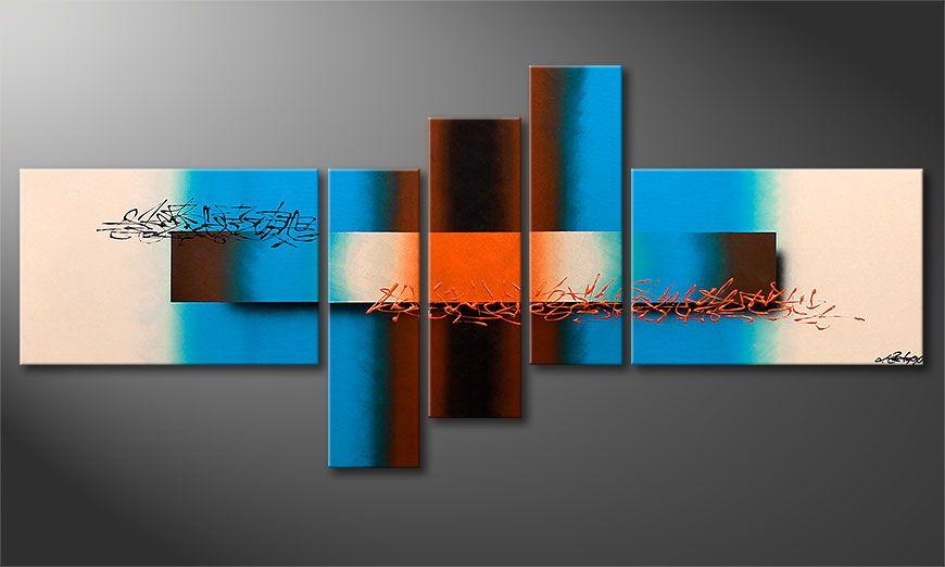 Nowoczesne obraz Summer Spirit 150x60x2cm
