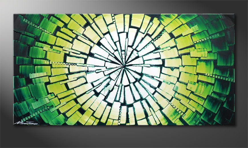 Obraz na blejtramie Center of Jungle 100x50x2cm