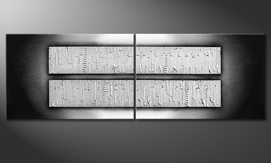 Obraz na blejtramie Crushed Ice 120x40x2cm