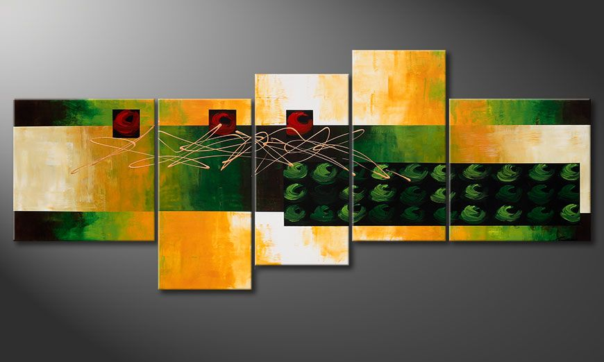 Obraz na blejtramie Quiet Love 240x100x2cm