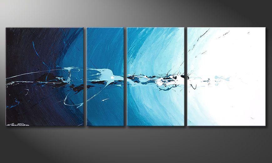 Obraz na blejtramie Water Splash 130x50x2cm