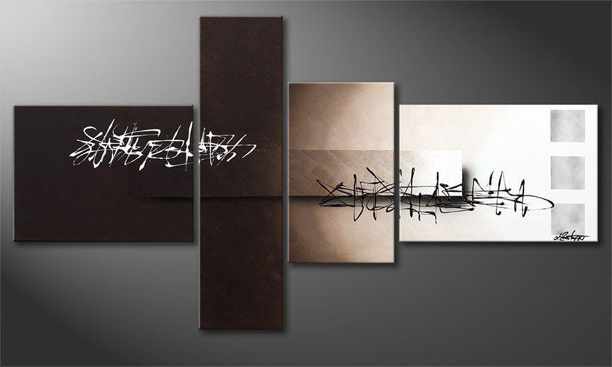Wspó?czesne obraz Between Night & Day 130x70x2cm